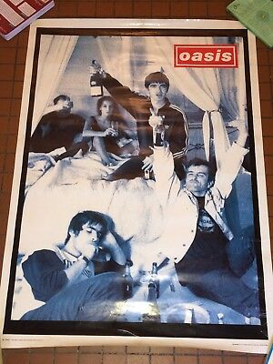 Poster Rare Oasis  Alcool Cigarettes  89,7x64 Cm Ou 35x25 Inches Printed In UK94