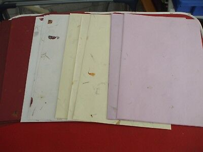 40 Sheets of A4 Handmade cotton Mulberry Papers