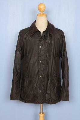 Mens BARBOUR Barfield Wax Jacket Green Size Large