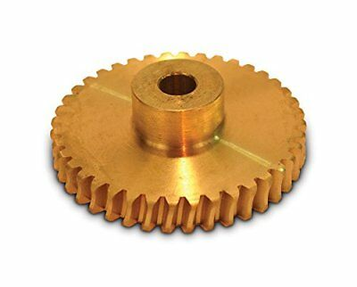 "Boston Gear G1028 Worm Gear, Plain, 14.5 PA Pressure Angle, 0.250"" Bore, 40:1 40"