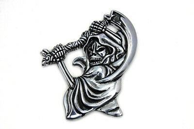 Pewter Grim Reaper Emblem for All Models Harley - Chopper