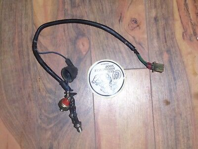 1983 Honda Vt750 Shadow Oil Pressure Sensors And Cable With Neutral Switches