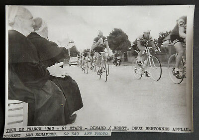 Photo de presse Cyclisme TOUR DE FRANCE 1962 6ème étape DINARD-BREST