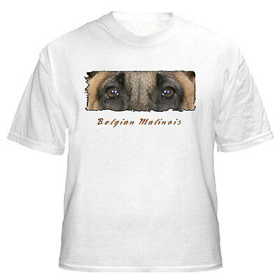 "Belgian Malinois # 2 "" The Eyes Have It ""  T shirt"