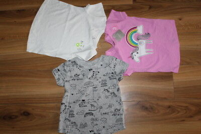 NEXT girls UNICORN tops 3 pack bundle 18-24 months NEW *I'll combine postage*2