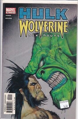 Hulk Wolverine Six Hours (2003) #2- NM
