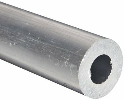 "Aluminum 6061-T6 Extruded Round Tubing, ASTM B210, 1-3/4"" OD, 1.25"" ID, 0.25"""