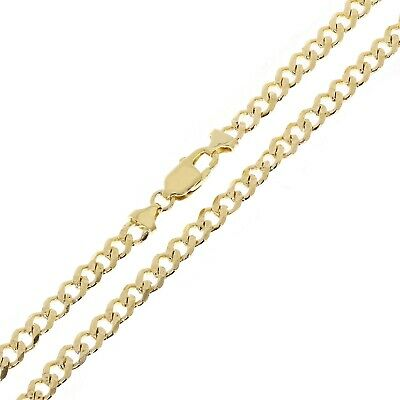 """14k Yellow Gold 30"""" Cuban Link Chain Necklace 5.9 mm - 42.3 grams"""