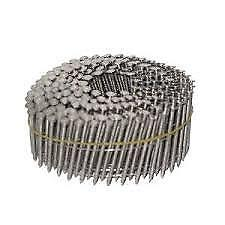 """1 3/4"""" STAINLESS STEEL 15 Degree Coil Ring Shank Nails (3,600) CW5D090SSR"""