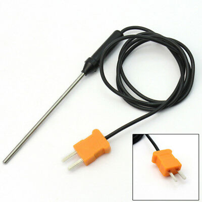 Temperature Controller K-Type Thermocouple Stainless Steel Sensor Probe New