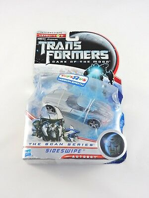 SIDESWIPE The Scan Series TRANSFORMERS Dark of the Moon 2011 Deluxe Class DOTM