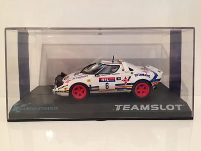 Team Slot 11511 Lancia Stratos R.A.C.E 1981 Rothmans New 1:32 Scale