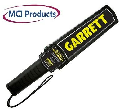 Garrett Super Scanner V Hand-Held Security Search Metal Detector Wand - NIB