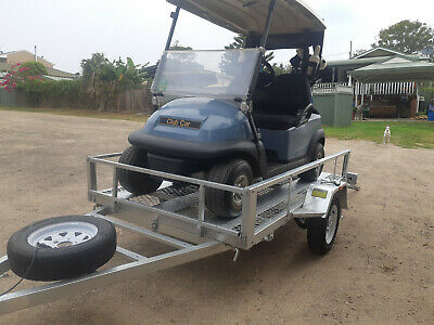 8x5 Galvanised Trailer Motorbike ATV Lawnmower Golf Buggy Coffs Harbour Grafton