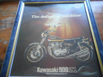 Kawasaki Z1 'The Deifitive Machine ' -  frame does not come with it .