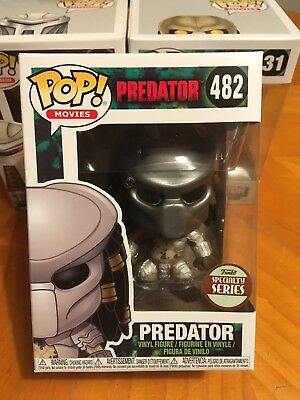 Funko Pop Movies: Predator Masked #482 Specialty Series Exclusive Collectible!