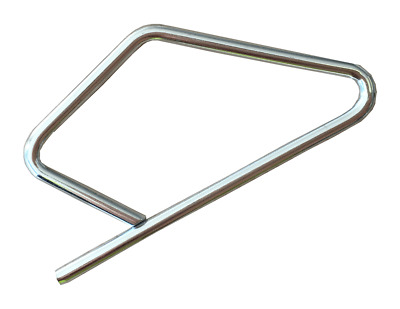 20x Millenium SAFETY LOCKING PINS 10-80mm Claw Coupling, Zinc Plated