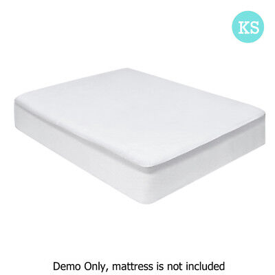 New Waterproof Bamboo Mattress Protector - King Single + FREE SHIPPING