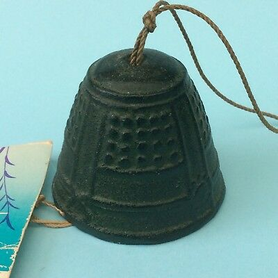 JAPANESE TRADITIONAL WIND CHIME BELL Cast Iron Delightful Relaxing Sound Nature