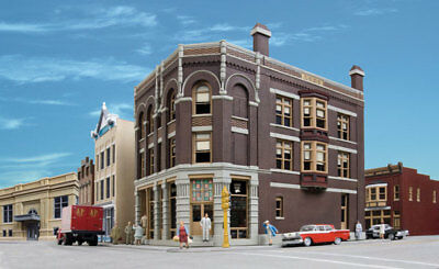 ARGOSY BOOKSELLERS cnr Building HO 1/87 scale KIT by Walthers 3466