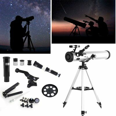 Night Vision Astronomical Telescope Monocular With Tripod Outdoor 700x76mm 70076