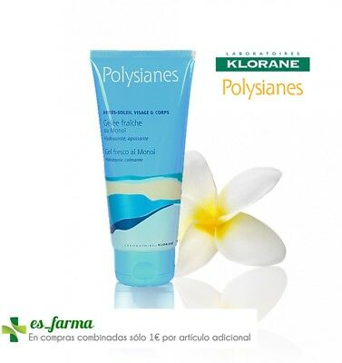 Klorane Polysianes Gel Fresco Monoi 250 Ml Monoï After Sun Hidratante Calmante