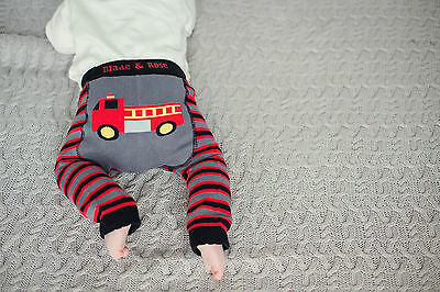 BNWT Blade and Rose Fire Engine Leggings 0-6, 6-12, 1-2 Years