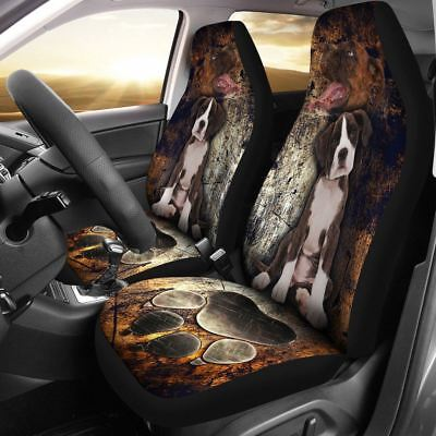 Boxer Puppy Car Seat Cover Set of 2 Animal Protector Gift