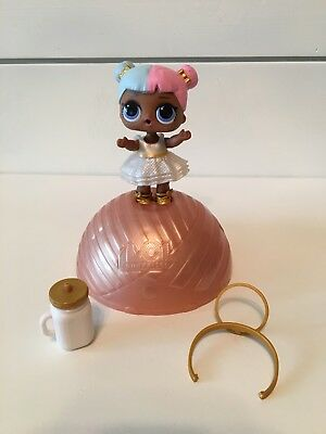 NEW LOL Surprise Doll Ball 7 Layers Of Fun Series 2 Sugar Halo Bottle