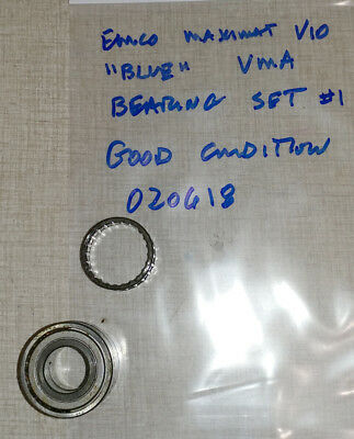 "Emco Maximat V10 ""BLUE"" Vertical Milling Parts: Quill Bearing Set #1 020618"