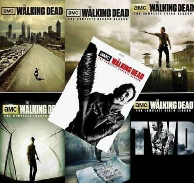 The Walking Dead: The Complete Series Season 1 -7 ( DVD, 2017, 31-Disc Box Set )