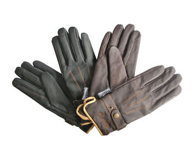 Mark Todd Winter Thinsulate Riding Gloves Brown and Black in Stock
