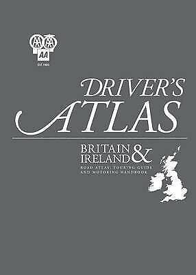 AA Driver's Atlas, , Very Good Book