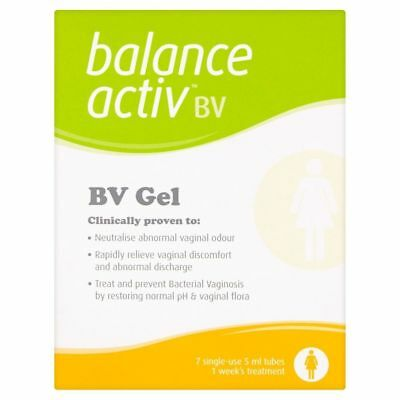 Balance Active THR Pack of 7 Tubes Treat and Prevent Vaginal Bacterial Vaginosis