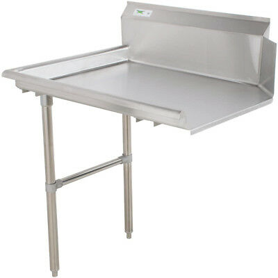 """Commercial Stainless Steel Left Side Clean 24"""" Dish Washer Table 2' Dishwashing"""