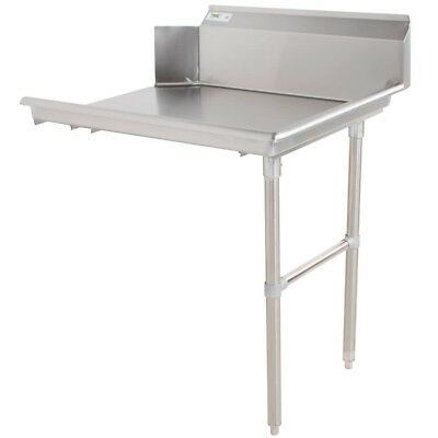 """Commercial Stainless Steel Right Side Clean 48"""" Dish Washer Table 4' Dishwashing"""