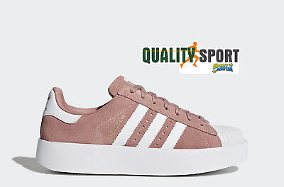 8d33fb8435532 Adidas Superstar Bold W Rosa Scarpe Shoes Donna Sportive Sneakers CQ2827  2018