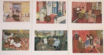 aae442a2716 Matisse Art Print Bookplate Trimmed Cuts Lot 6X Half Page    SEE VARIETY