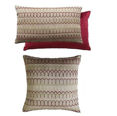 "Luxury Carnival Berry Filled Cushions,2 Sizes 17""x 17"" / 16"" x 23"" Cushions"