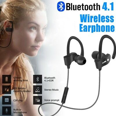 Bluetooth Wireless Headphone Earphone for Android All Apple Iphone UK SELLER