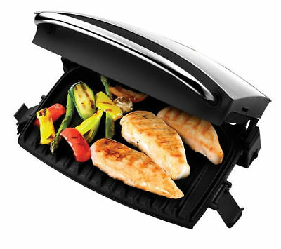 George Foreman 5 Portion Family Fat Reducing Health Grill 19920 + Drip Tray *UK*