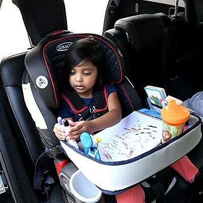 Lap Desk Travel Tray For Kids Car Seat Activity Children Toddler