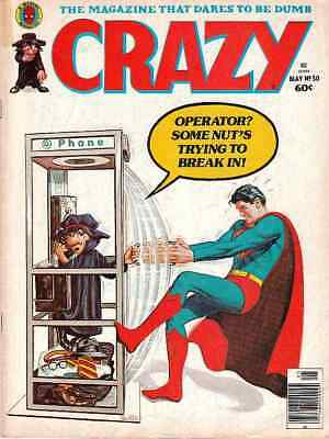 Crazy Magazine 90 Issue Collection On DVD Disc Free Shipping PDF
