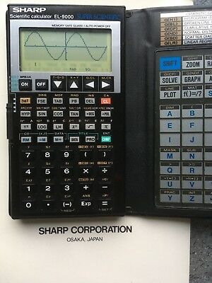 Sharp EL-9000 Super Scentific Calculator Taschenrechner