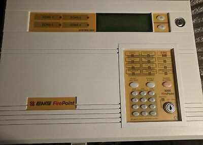 EMS Firepoint System 5004, 4 Zone Radio Fire Panel 53-5004