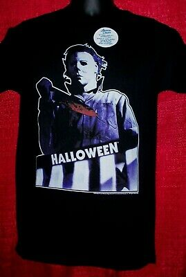 """Halloween, """"Micheal Myers with Knife"""" Mens Adult Small Unisex T-Shirt -new"""