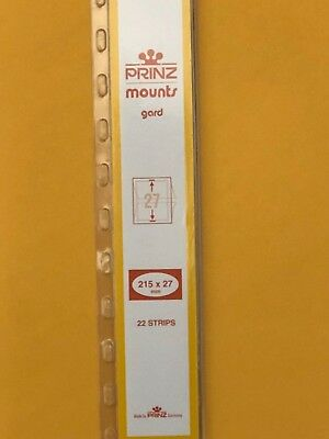 Prinz Stamp Mounts 27/215 - *** We Are A Veteran Supportive Business ***