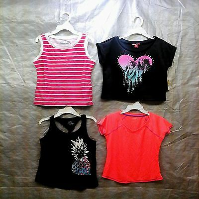 Wholesale Lot Assorted Brand New Children's GIRL Clothing 100 Tops FREE SHIP