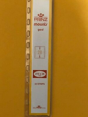 Prinz Stamp Mounts 28/215 - ***We Are A Veteran Supportive Business***