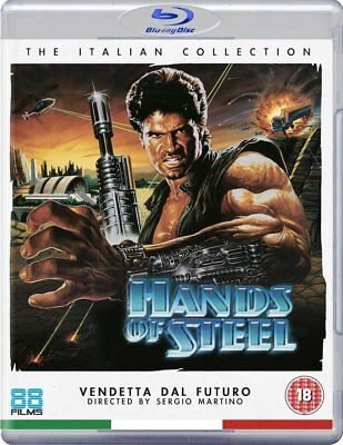 HANDS OF STEEL (1986) Blu-Ray BRAND NEW Free Shipping - USA Compatible
